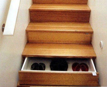 Креативные вещички Лестница-шкаф