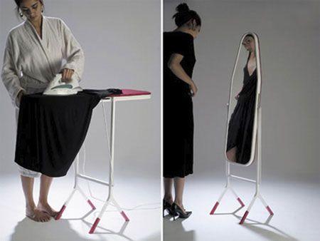 Креативные вещички Гладильная доска с зеркалом