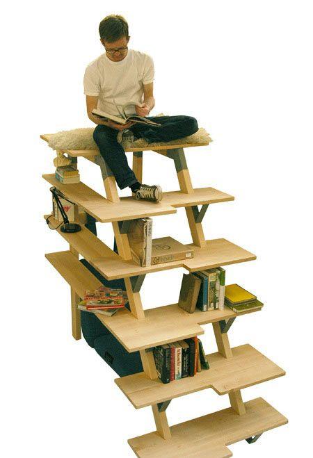 Креативные вещички Лестница-стеллаж
