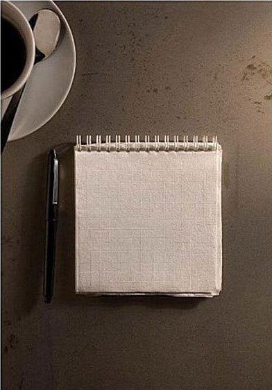 Креативные вещички Блокнот из салфеток