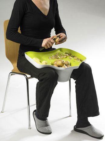 Креативные вещички Емкость для чистки картофеля