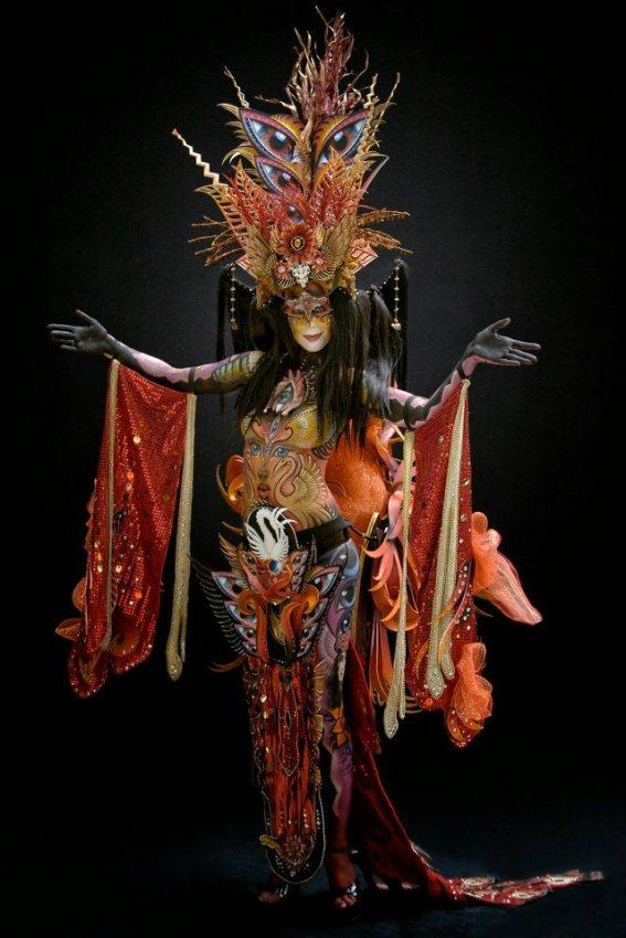 Фестиваль боди-арта