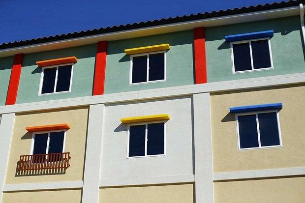 В Калифорнии строится отель в стиле Lego Окна гостиничных номеров.