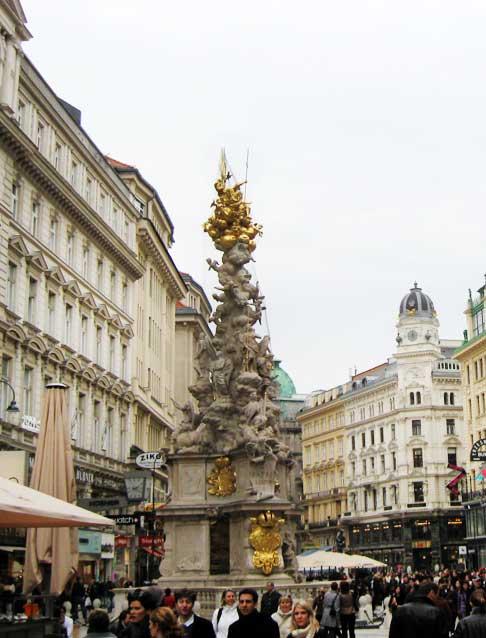 Музеи и достопримечательности Вены Чумная колонна