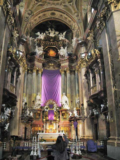 Музеи и достопримечательности Вены В соборе святого Петра