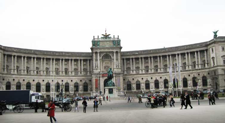 Музеи и достопримечательности Вены Новый Хофбург
