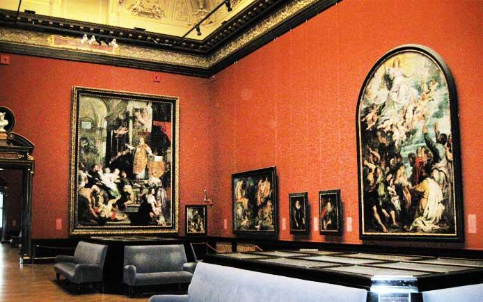 Музеи и достопримечательности Вены В картинной галерее Музея истории искусств