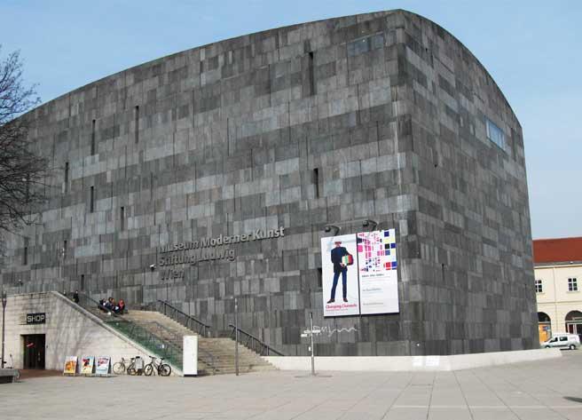 Музеи и достопримечательности Вены Музей современного искусства