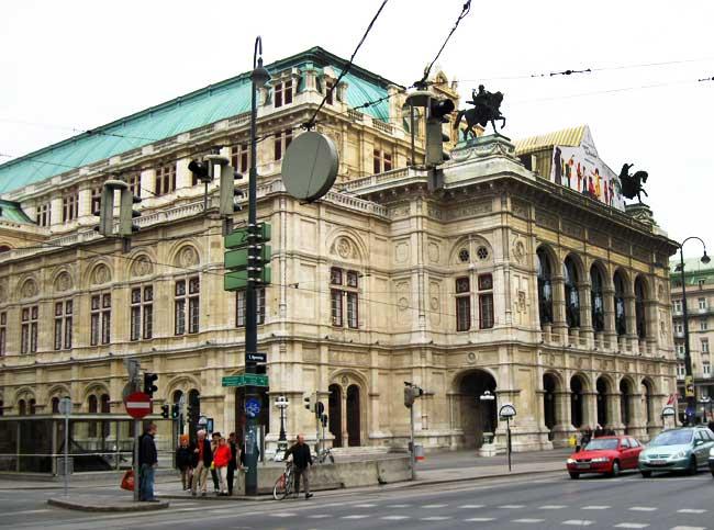 Музеи и достопримечательности Вены Венская опера