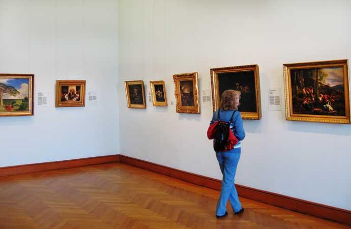 Музеи и достопримечательности Вены В картинной галерее Верхнего Бельведера