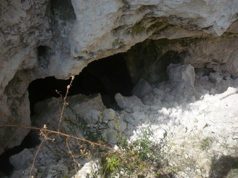 Горы Воронежской области Борщёвские пещеры