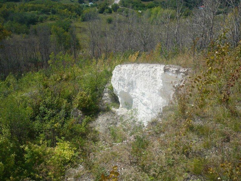 Горы Воронежской области Вход в Борщёвские пещеры