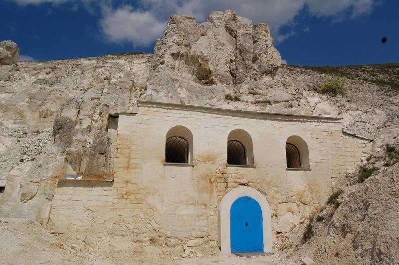 Горы Воронежской области Дивногорский Успенский мужской монастырь