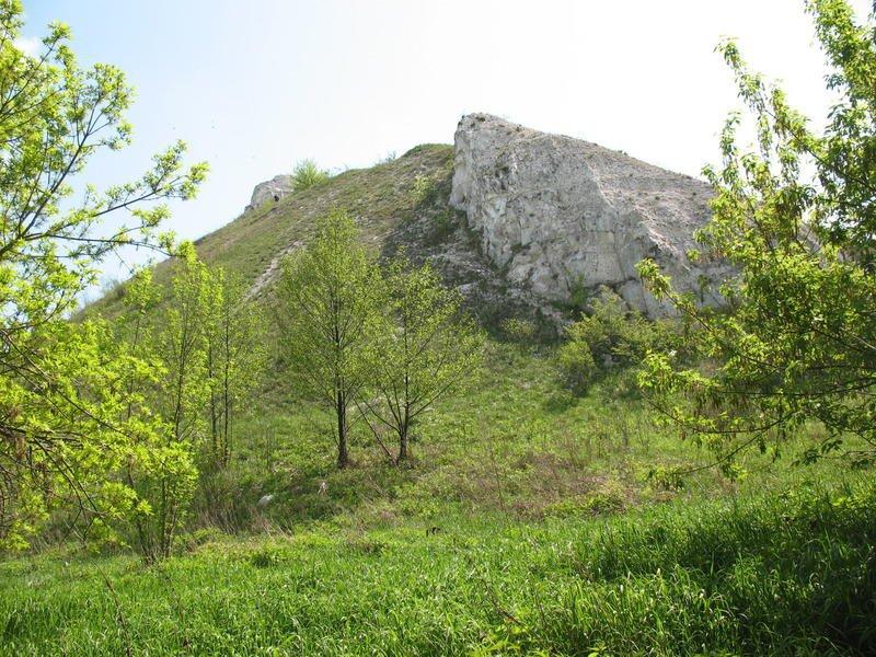 Горы Воронежской области Гора, где располагался Шатрищенский скит