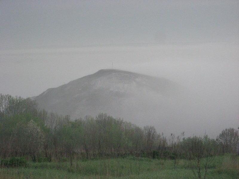 Горы Воронежской области Меловая гора в Шатрищах