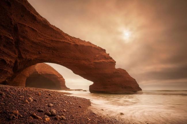 20 мест на планете, в существование которых трудно поверить Пляж легзира, Марокко