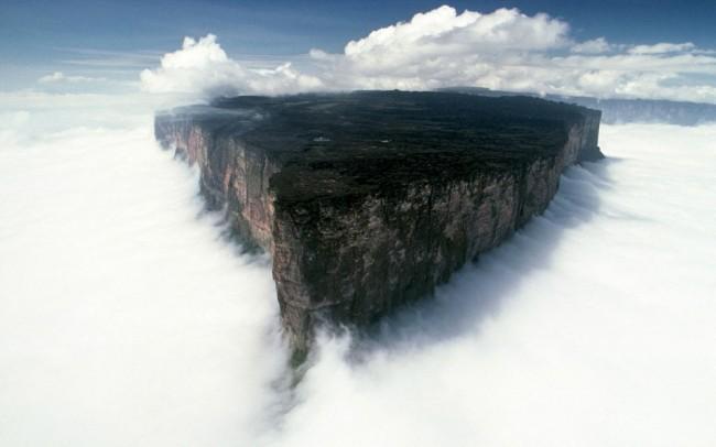 20 мест на планете, в существование которых трудно поверить Плато Рорайма, Аргентина