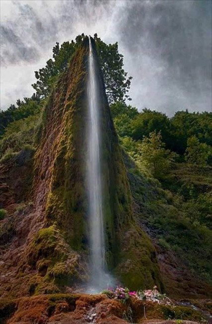 20 мест на планете, в существование которых трудно поверить Водопад Прскало, Сербия