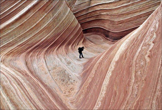 20 мест на планете, в существование которых трудно поверить Волнистые скалы на плато Колорадо, США