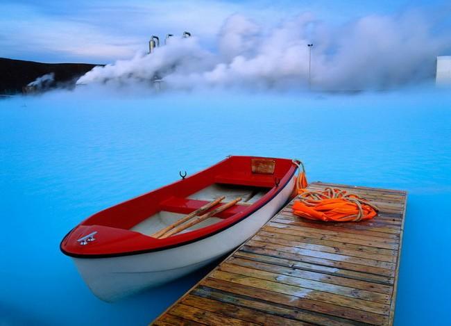 20 мест на планете, в существование которых трудно поверить Голубая лагуна, Исландия