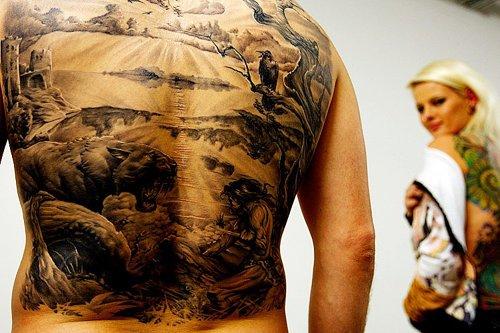 Выставка тату в Будапеште