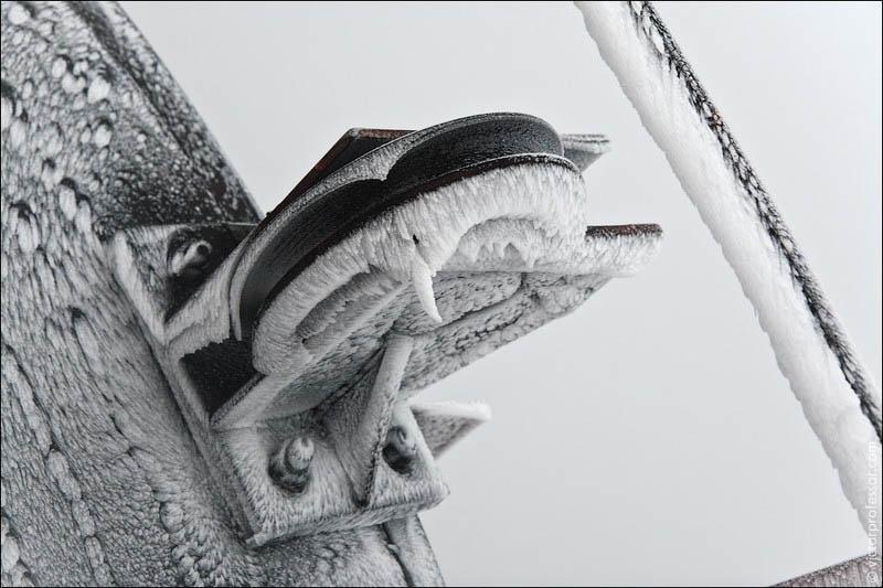 Самый высокий абандон Очень холодно.