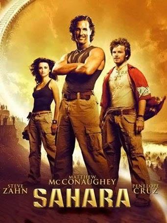 25 грандиозных кинопровалов  Сахара - 2005 год бюджет $160 миллионов, сборы $67,8 миллионов