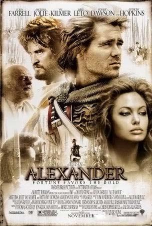 25 грандиозных кинопровалов  Александр, 2004 год - бюджет $155 миллионов, сборы $ 34,3 миллиона