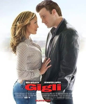 25 грандиозных кинопровалов  Джильи, 2004 год, бюджет $54 миллиона , сборы $6,1 миллиона