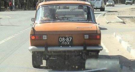 Авто курьезы и приколы