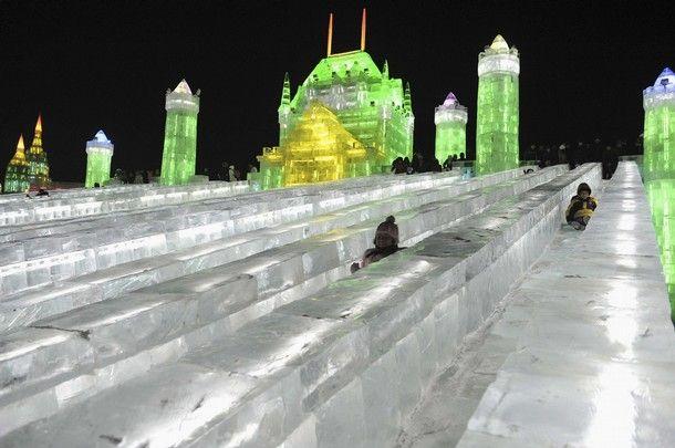 25й интернациональный ледовый фестиваль в Харбине