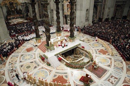 Лучшие Рождественские фотографии Рождественский сочельник в Ватикане