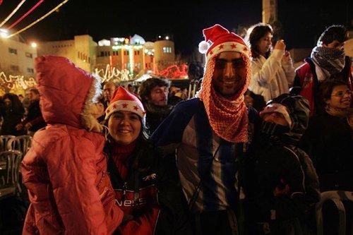 Лучшие Рождественские фотографии Празднование Рождества в Палестине