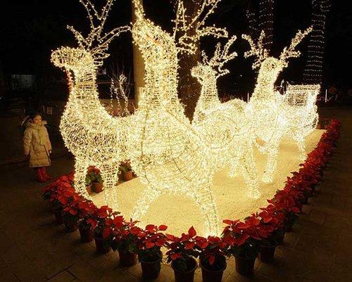 Лучшие Рождественские фотографии Рождественская иллюминация в Ханое, Вьетнам