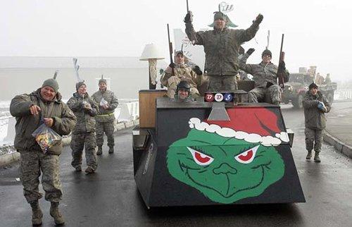 Лучшие Рождественские фотографии Празднование Рождества на американской базе в Афганистане