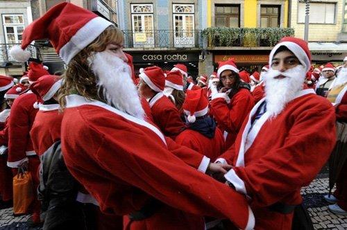 Санта-Клаусы установили рекорд