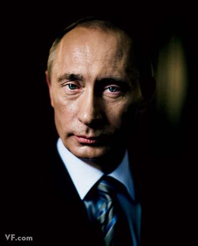 Лучшие фото года. Vanity Fair Владимир Путин. Photograph by Stephane Lavoue
