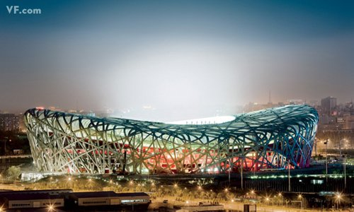 Лучшие фото года. Vanity Fair Пекинский национальный стадион. Photograph by Stephen Wilkes
