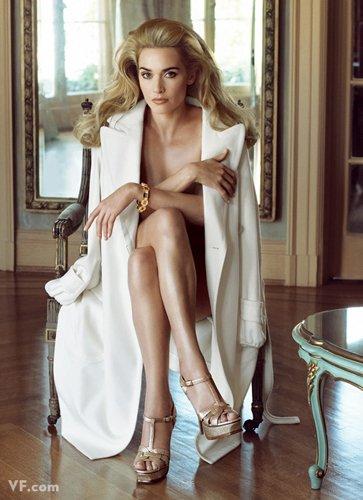 Лучшие фото года. Vanity Fair Кейт Уинслет. Photograph by Steven Meisel; styled by Jessica Diehl