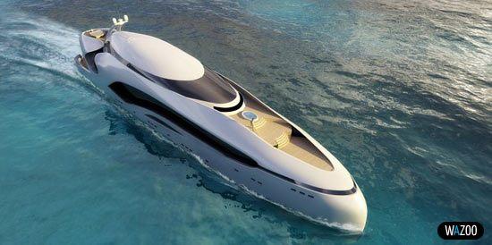 Мега яхта