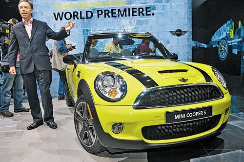 Суперхиты автосалона в Детройте Свежая версия Mini Cooper с открытым верхом появится в продаже уже в марте