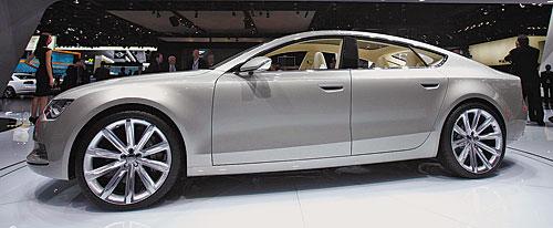 Суперхиты автосалона в Детройте Прототип главного конкурента Porsche Panamera дизельное