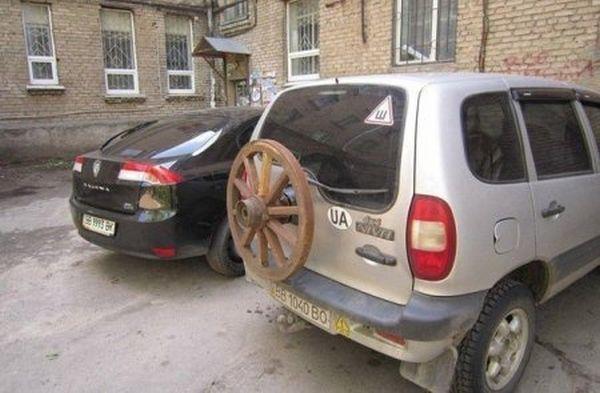 Автомобильные_приколы,курьезы