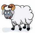 Открытки - Тематические - Год Овцы (Козы)
