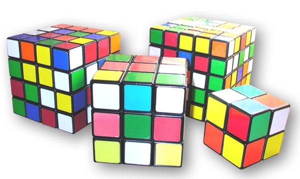 Кубир Рубика - варианты