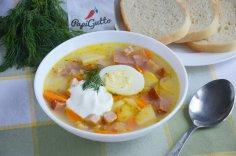 Как приготовить традиционный польский суп журек?