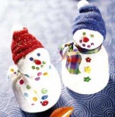 Как сделать с ребёнком игрушку на новогоднюю ёлку?