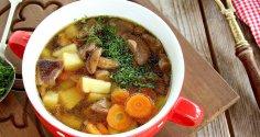 Как быстро приготовить грибной суп?