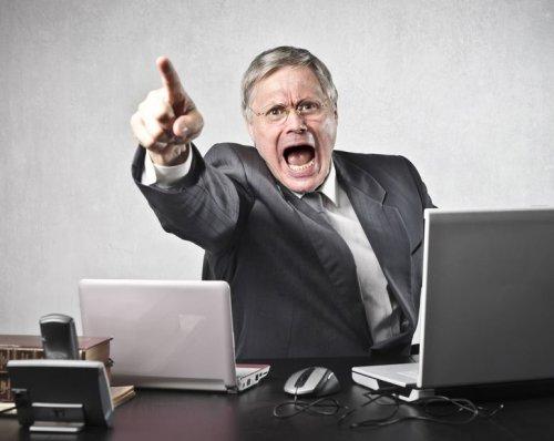 Что делать, если ваш начальник - психопат?