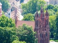 Что можно посмотреть в Вильнюсе за четыре часа? Старый город!